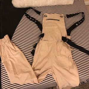 Cargo overall jumpsuit